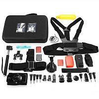 AT684 набор аксессуаров для спортивной камеры для GoPro / YI / SJCAM Чёрный