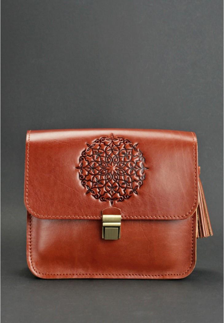 e1797a2d9724 Женская сумка через плечо BlankNote BN-BAG-3-k-man коричневая, цена ...