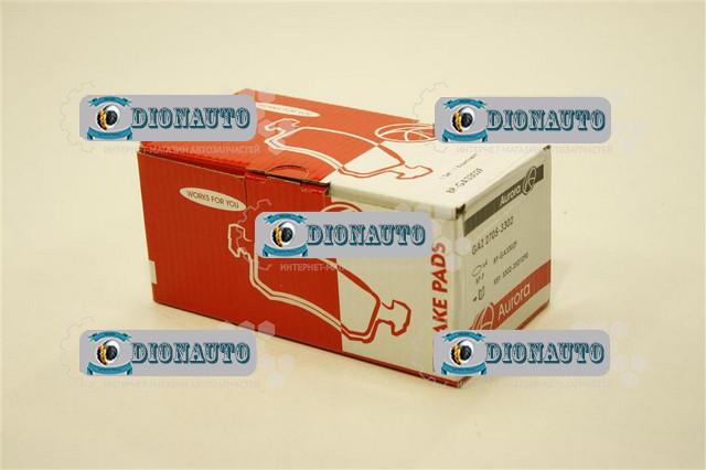 Колодка передняя тормозная 3302, 2705, 2217 AURORA к-т ГАЗ-2705 (ГАЗель) (3302-3501170)