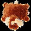 Подушка Алина собачка Шарик 55 см коричневый hotdeal