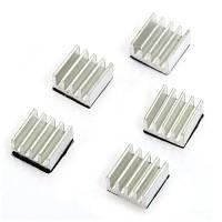 Алюминиевый радиатор охлаждения для 3D принтера 5 шт Серебристый