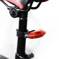 Ansuo AZ-108 5-LED предупредительный световой сигнал безопасности для велосипеда Красный