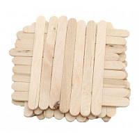 DIY деревянная Материал мороженое палочки 50шт дерево