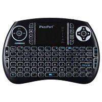 Ipazzport КП-810-21BTL связь Bluetooth ручной Клавиатура Чёрный