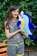 Мягкая игрушка подарок для вашего ребенка - Дельфин Фенси, средний