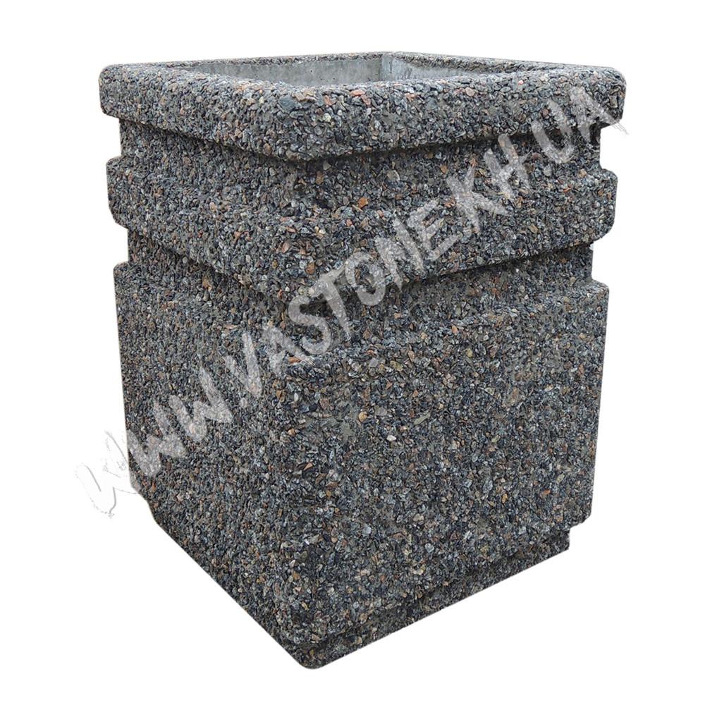Урна для мусора «Невада» уличная бетонная