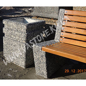 Урна для мусора «Невада» уличная бетонная, фото 2