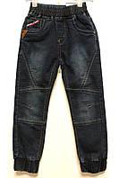Модні джинси на манжеті для хлопчиків 3-4 років (98-104см). Польща Niebiesky