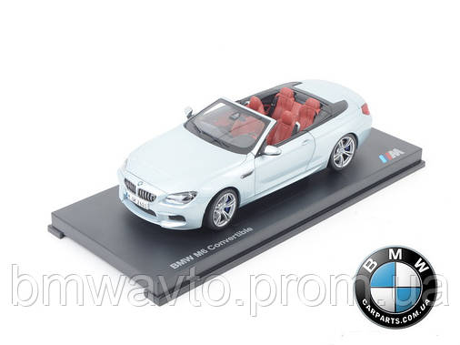 Модель автомобиля BMW M6 Convertible (F12 M) Silverstone II, Scale 1:18, фото 2