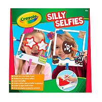 Селфи набір для творчості Silly Selfies, в наборі фломастери, аксесуари, Crayola (Крайола)