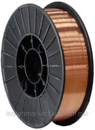 Сварочная проволока омедненная Forte ER 70S-6 1.2 мм х 5 кг, фото 2