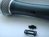 Панелька с переключателем  для китайского радиомикрофона Sennheiser ew128,   ew100 Takstar ts6700, фото 3