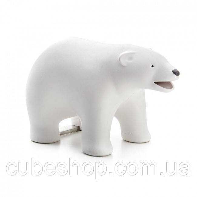 Держатель для скотча и скрепок Brown Bear Qualy (белый)