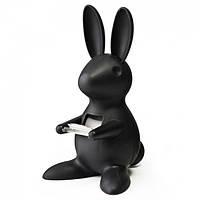 Диспенсер для скотча Desk Bunny Qualy (черный)