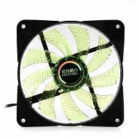 NEEDCOOL G1 DC 12V Вентилятор охлаждения для корпуса компьютера 12см Зелёный