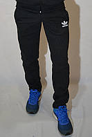 Размеры:44,46,48 - Утепленные спортивные штаны Adidas / темно-серые