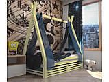 Домик кровать детский Вигвам из массива дерева, фото 8