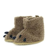 Зимние пинетки-сапожки утепленные флисом для девочки (обувь на первый шаг, размеры 10,5 см / 11,5 см / 12,5 см) ТМ Berni