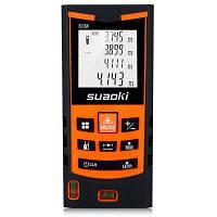 Измеритель расстояния лазера suaoki S9 80 м Оранжевый