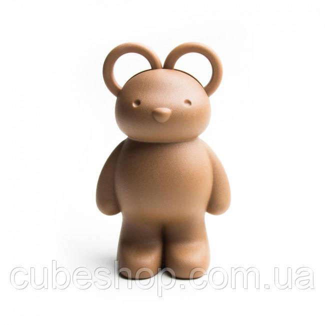 Ножницы и держатель для скрепок Teddy Bear Qualy