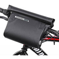Roswheel 111361 водонепроницаемая ПВХ велосипедная сумка для руля Чёрный