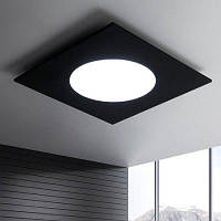 Контрактное потолочное светодиодное освещение с регулируемым светом 220В Чёрный