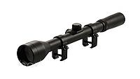 Прицел оптический для использования на пневматическом оружии 4х28 Tasco для развлекательной стрельбы