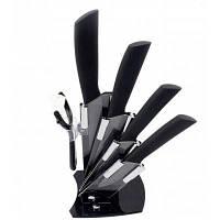 Керамический набор ножей для фруктов и овощей Чёрный