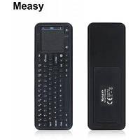 Measy RC8 160DPI 2.4G беспроводная мышь воздуха пульт дистанционного управления Чёрный