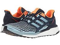 Кроссовки/Кеды (Оригинал) adidas Running Energy Boost Collegiate Navy/Ash Grey/Solar Orange
