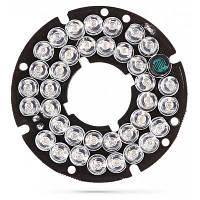 36 светодиодная инфракрасная световая пластина ночного видения установка камер видеонаблюдения Белый и чёрный