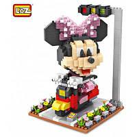 LOZ ABS строительный блок с изображением мультфильма-570 шт / комплект Цветной