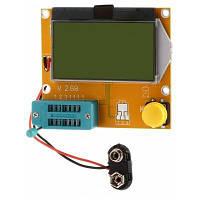 LCR-T4-H Тестер Транзисторов ESR SCR измеритель для проектов DIY Землистый