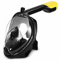 SMACO M2068G маска для подводного плавания с полным лицом для экшн камеры L / XL
