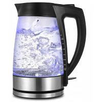 Sweet Alice чайник стеклянный электрический 1.7-литровый Чёрный