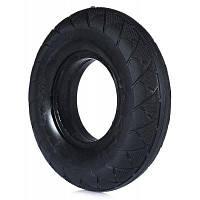 20см Износостойкая твердая резиновая шина для скутера и скейтборда Чёрный