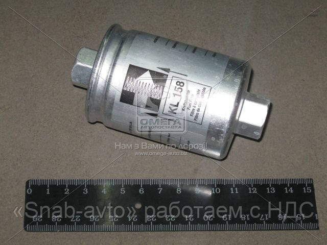 Фильтр топливный DAEWOO NEXIA (производство Knecht-Mahle) (арт. KL158), ACHZX