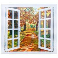 CH004 3D ложные окна Съемный стикер стены Цветной