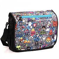 Школьная сумка с веселым рисунком JTL арт. 13050
