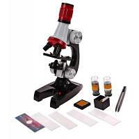 100X 400X 1200X Микроскоп для исследования Цветной