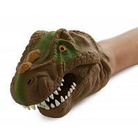 Забавная Модель Динозавр Марионетка Руки Игрушку Цветной
