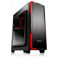 Segotep HALO3 акрил боковой корпус ATX игровой компьютер черный красный