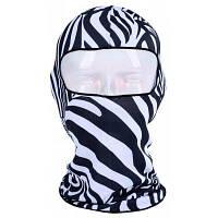 Многофункциональный Печатный Глава велосипедов маски Cap зебра полоса