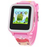 X02S умные часы телефон для детей Розовый