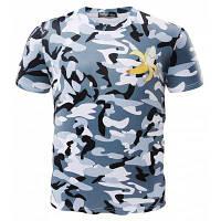 Модная печатная мужская футболка с короткими рукавами с узором бананы M
