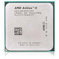 AMD Athlon II 210E двухъядерный АМ3+ 2.6 ГГц CPU Серебристый