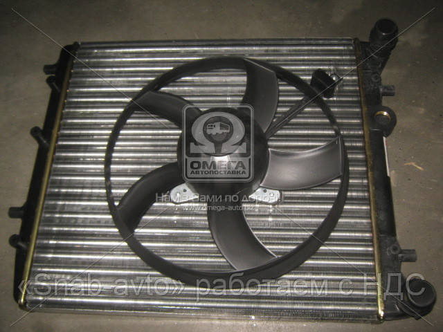 Радиатор FABIA/POLO4 MT -AC 01- (Van Wezel) (арт. 76002013), AFHZX