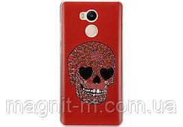 Чехол-накладка Utty 3DPattern Ultra Thin для Xiaomi Redmi 4 Pro Red/Black/sh7409 (263495)