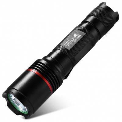 Светодиодный фонарь ultrafire УФ - 6835 XM - Л2 5-ступенчатая 1000ЛМ свет клип фонарик - Чёрный, фото 2