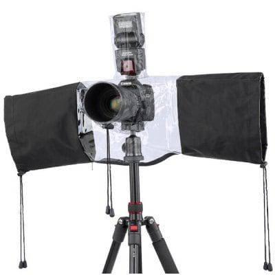 Профессиональный непромокаемый дождевик для камеры DSLR - Чёрный, фото 2